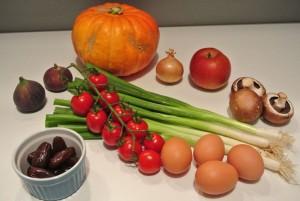 Zutaten Herbst Quiches 1 und 2