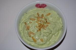 Avocado-Frischkäse-Dip